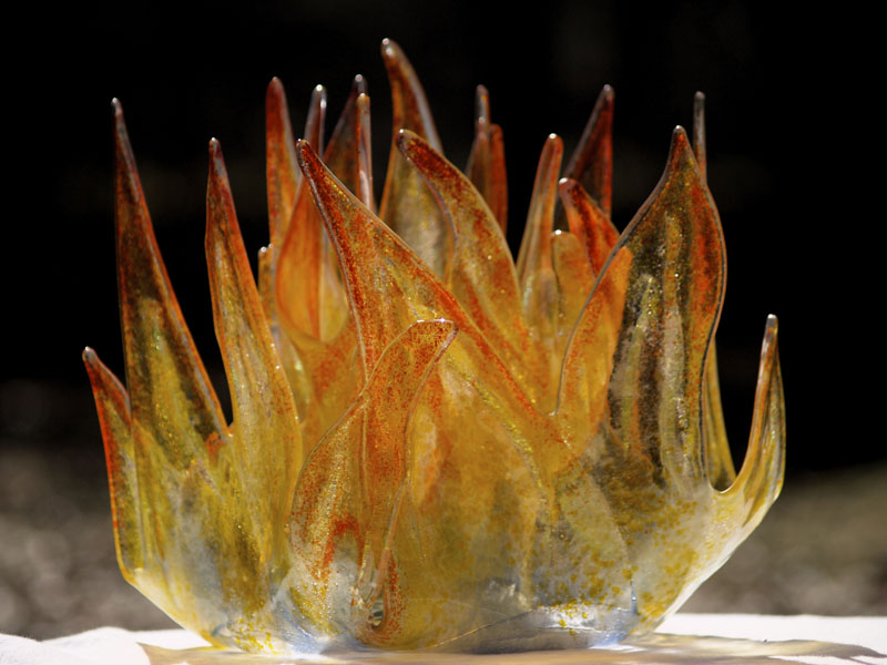 HOW TO FUSE GLASS WITHOUT A KILN