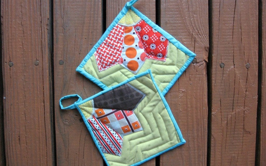 How to Bind a Potholder?