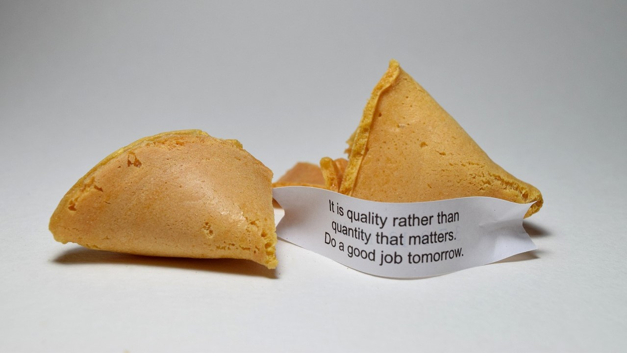How to Make a Fortune Cookie Out of Paper