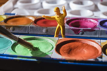 How to Make a Paint Wash for Miniatures