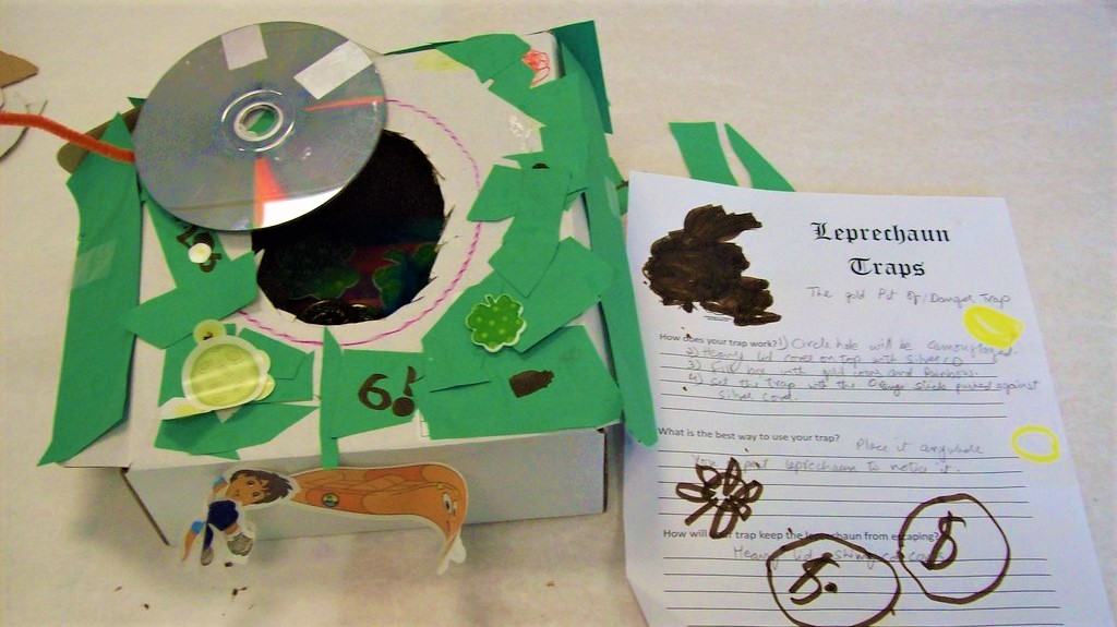 How to Make a Leprechaun Trap for a School Project