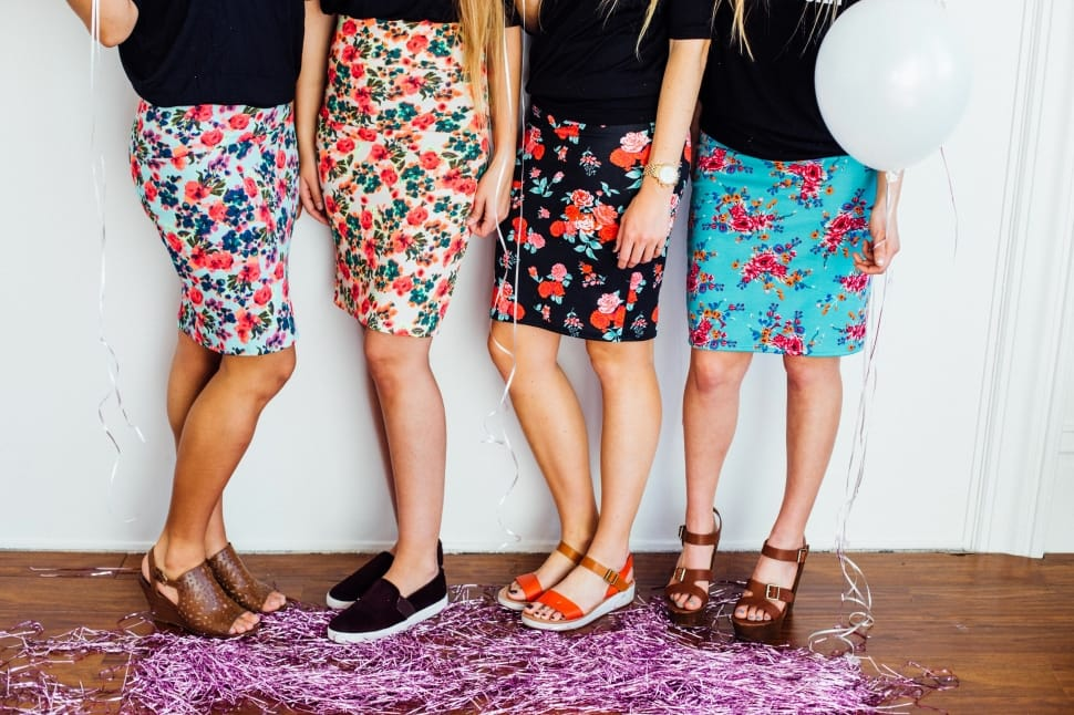 How to Turn Shorts Into a Skirt