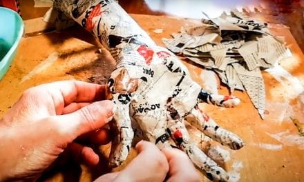 How to Make a Paper Mache Hand