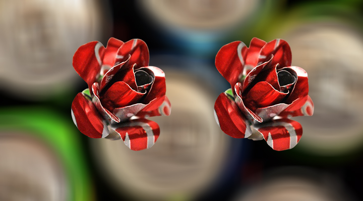 How To Make Flowers Out Of Aluminum Cans