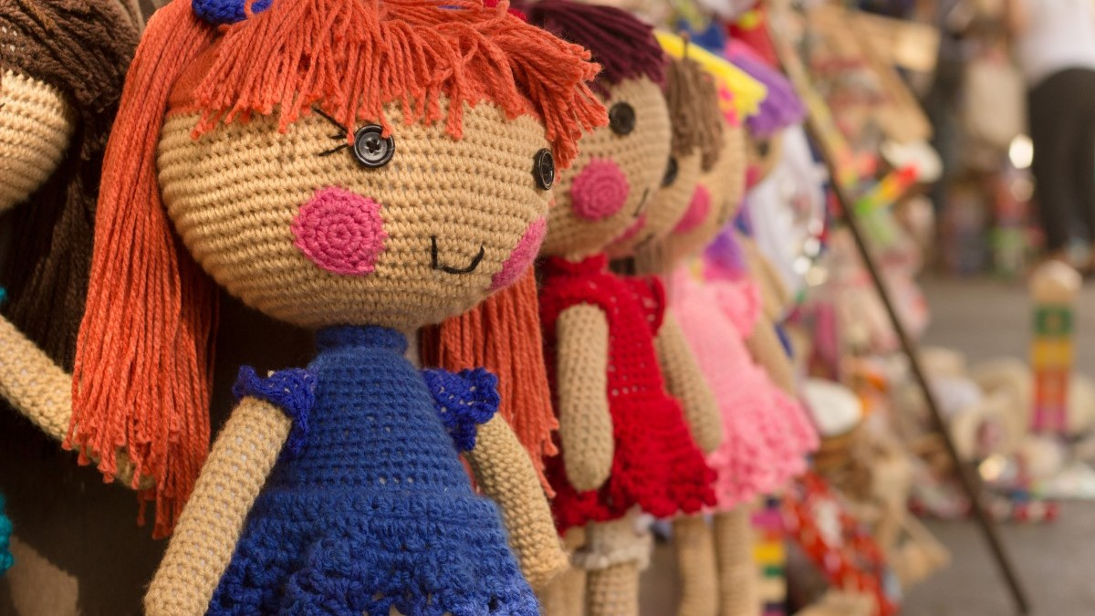 How to Crochet a Doll Dress for Beginners