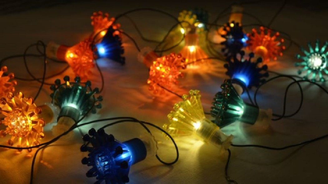 how to waterproof Christmas lights connections