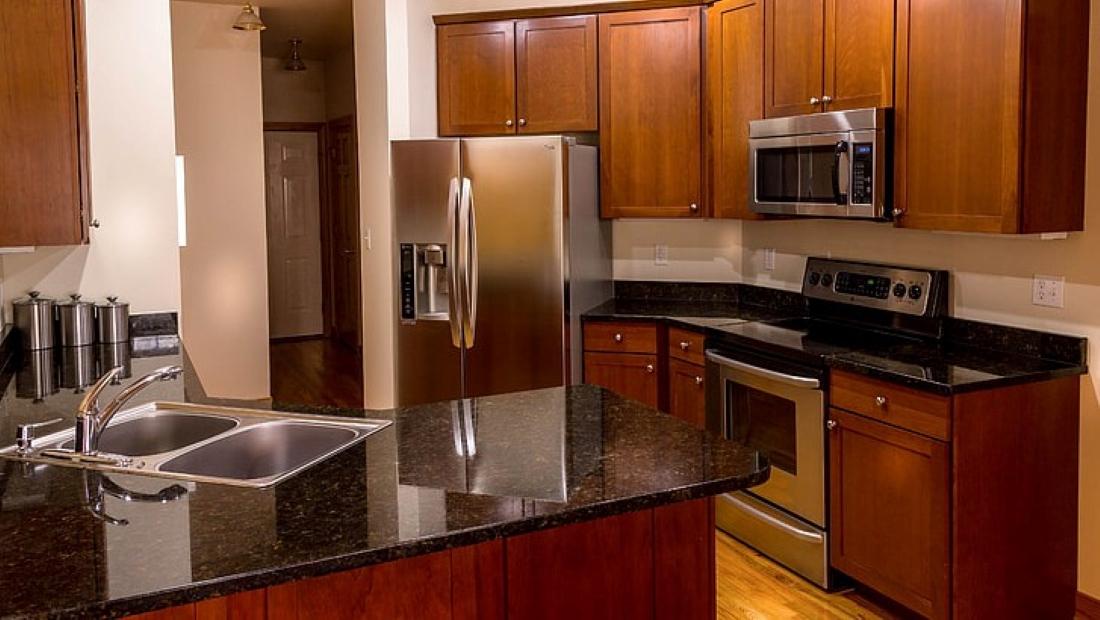 How to Lighten Dark Wood Kitchen Cabinets