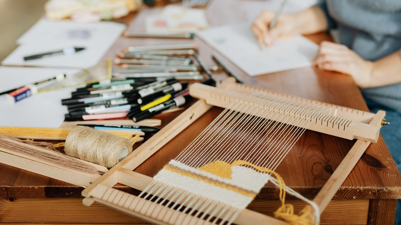 How to Finish a Weaving Loom Project