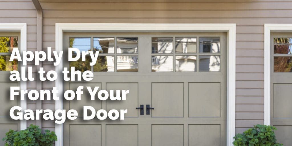 Apply Drywall to the Front of Your Garage Door