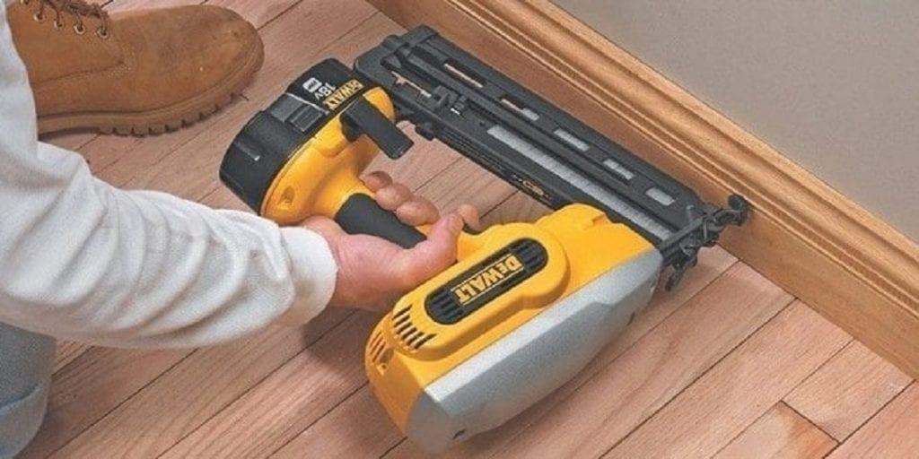 How to Nail Baseboard with Nail Gun