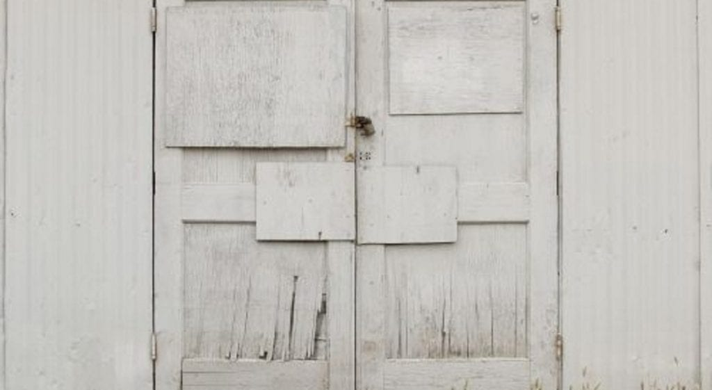 How to Turn Your Garage Door into a Wall