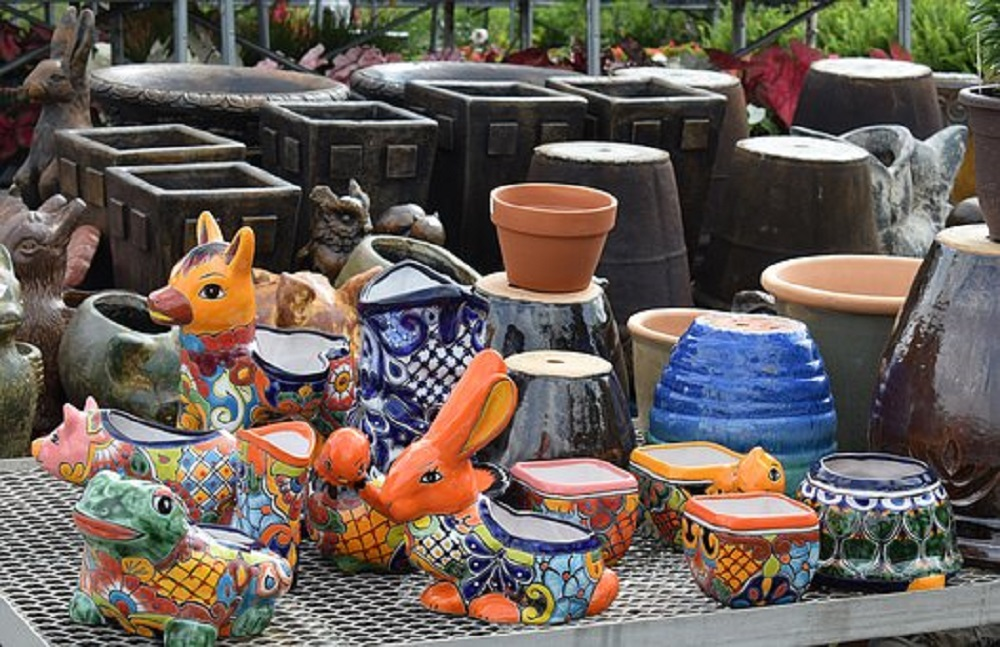 how to glue terracotta pots together1