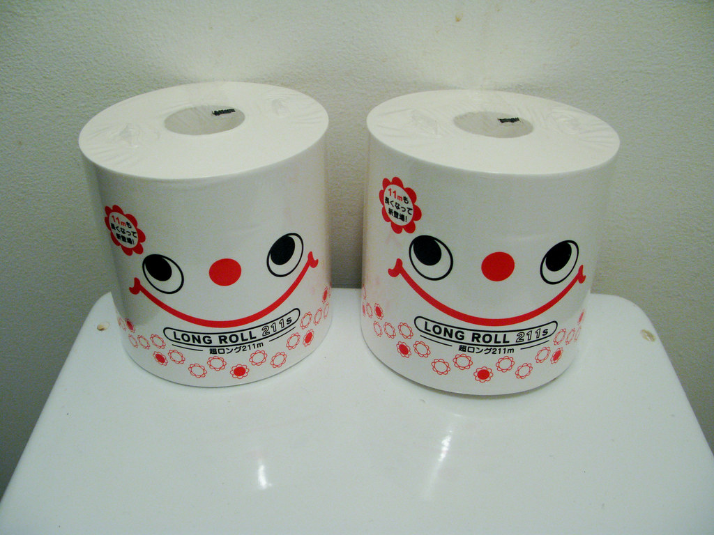 How to Embroider on Toilet Paper