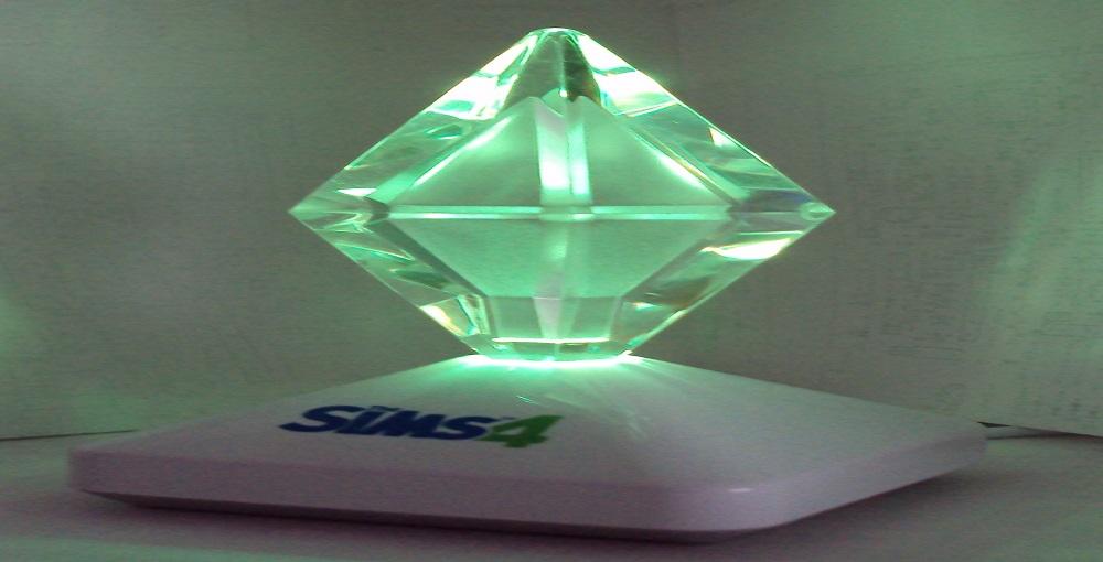 How to Make a Sims Diamond