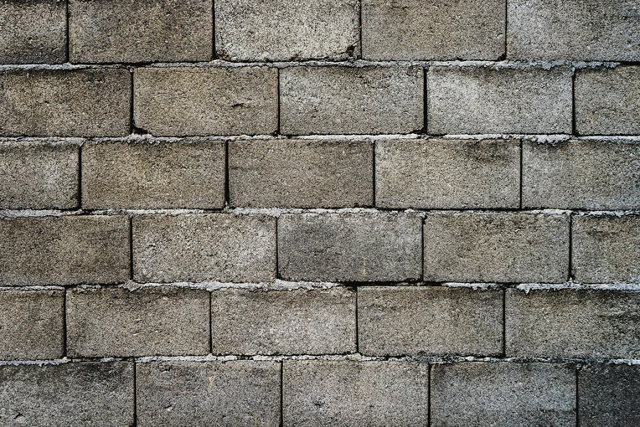 How to Paint Cinder Block Wall to Look Like Stone-2