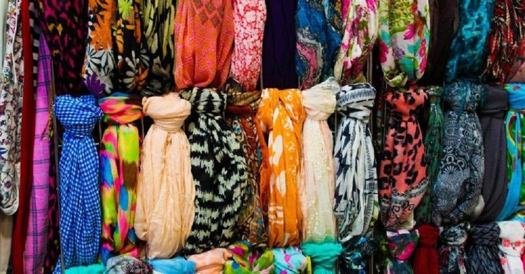 How to Store Scarves Konmari