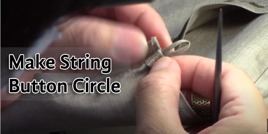 Make String Button Circle