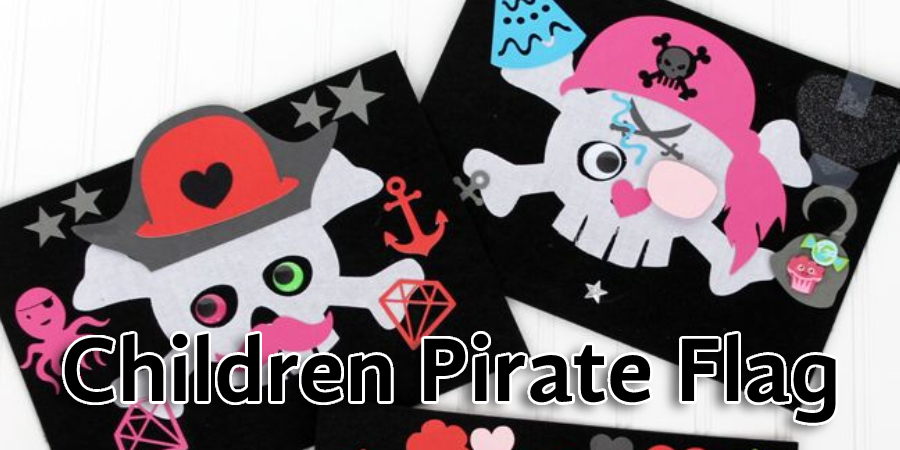 Children Pirate Flag