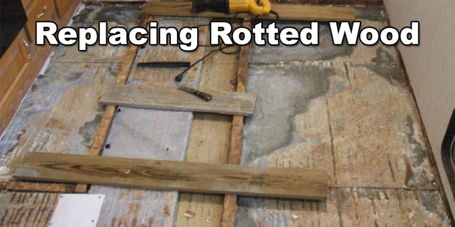Replace rotted wood