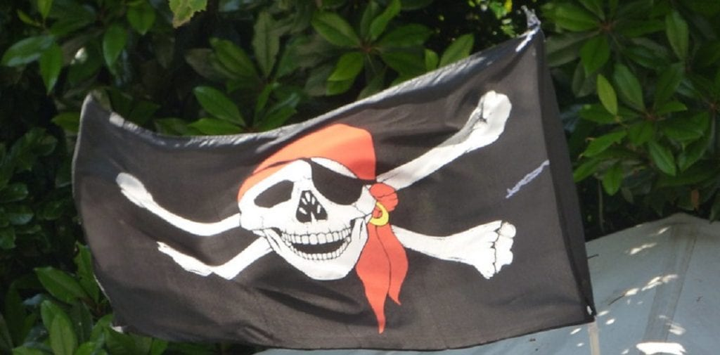 how to make a pirate flag