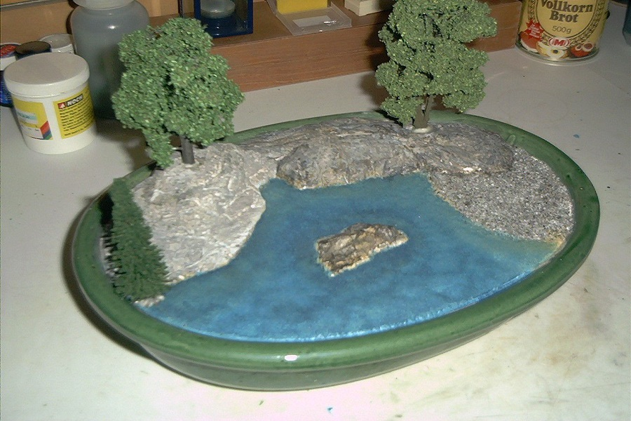how to make realistic water in a diorama-1
