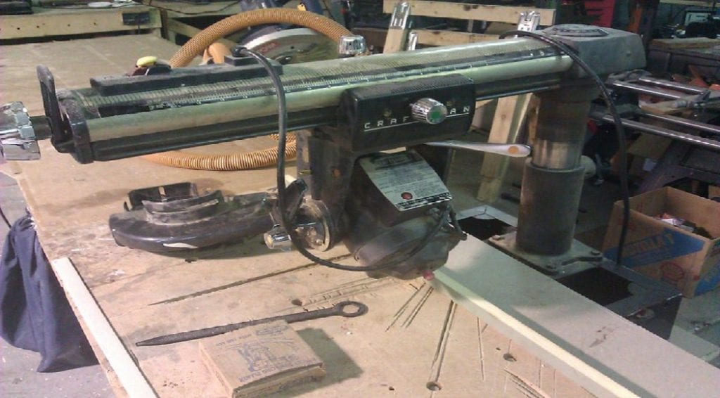 how to master the radial arm saw