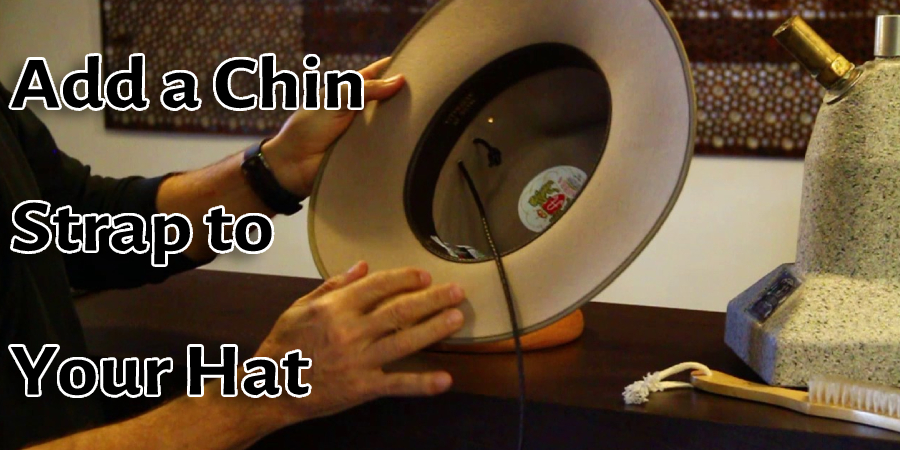 Add a Chin Strap to Your Hat