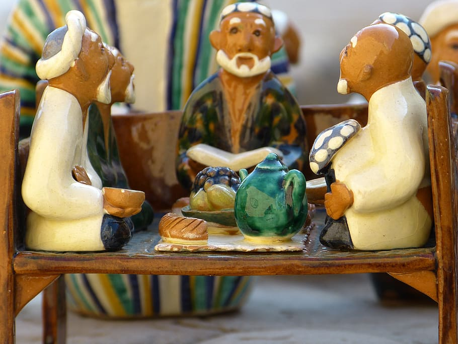How to Clean Bisque Figurines