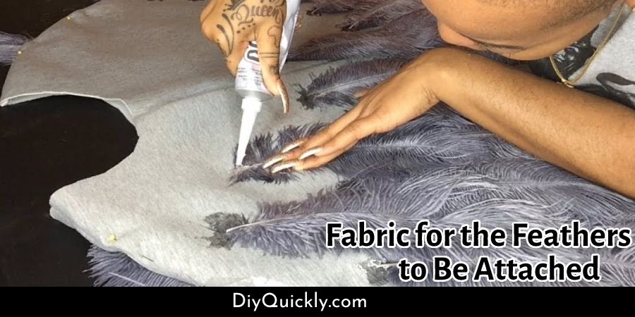 Fabric for the Feathers to Be Attached