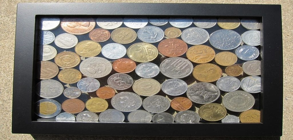 How to Display Coins in a Frame