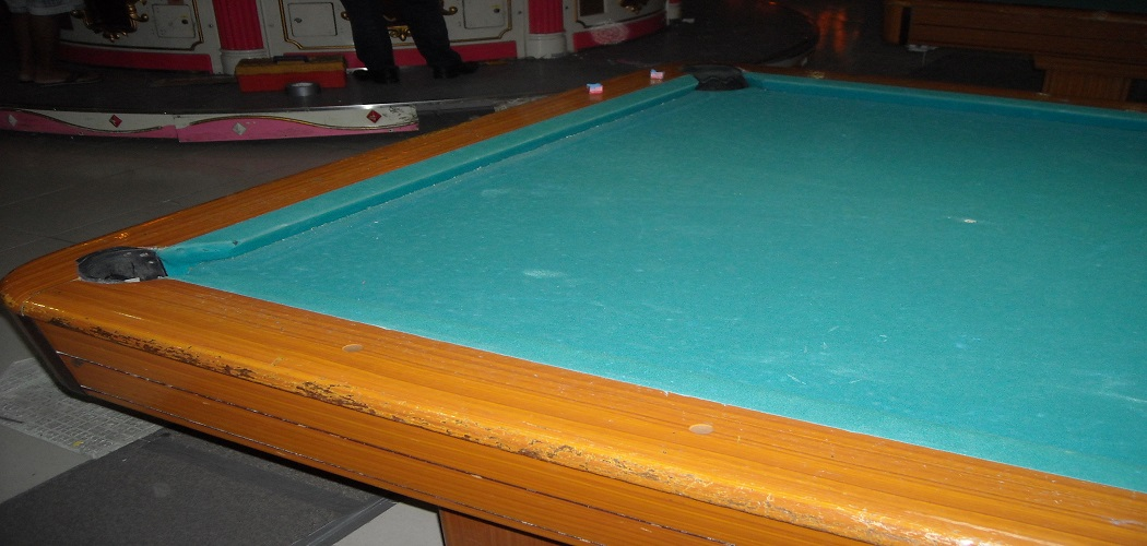 How to Replace Pool Table Pockets 1
