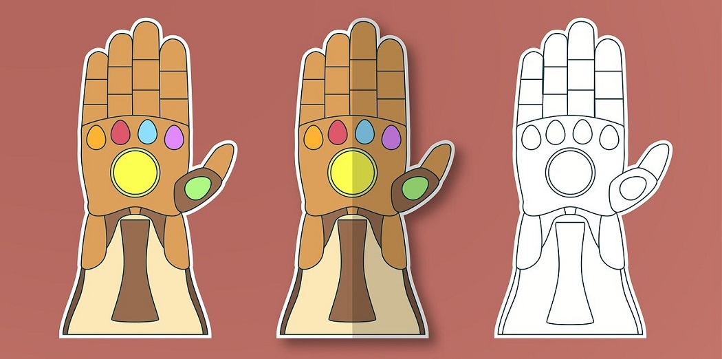 How to Make a Paper Infinity Gauntlet
