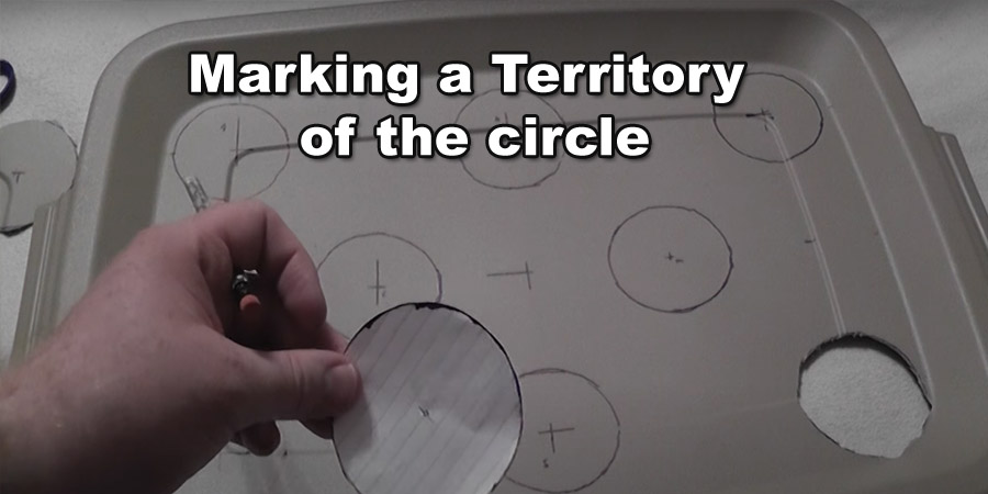 marking the territory circle