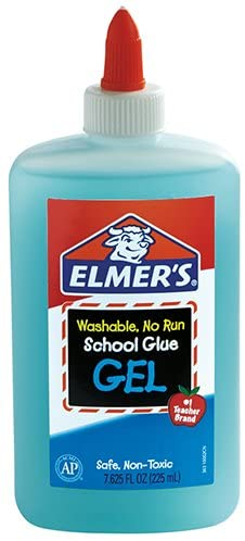 Elmer's Liquid Gel School Glue, Washable, 7.625 Ounces, 1 Count