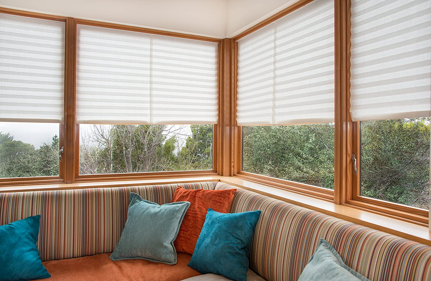 Redi Shade 1616204 Original Light Filtering Pleated Paper Shade, 36 in x 72 in, 6-pack, White