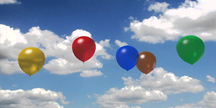 How to Make Balloons Float without Using Helium 2