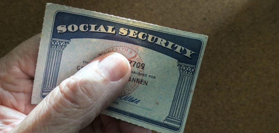 Remove Lamination from Social Security Card