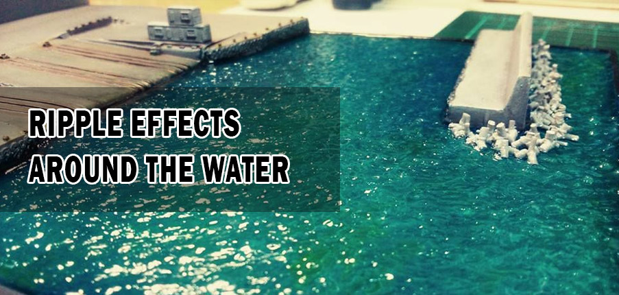 Ripple effects around the water