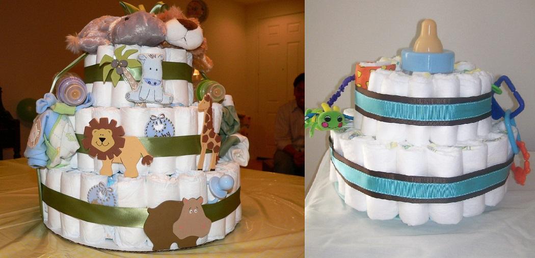 How to Make a Crib Diaper Cake