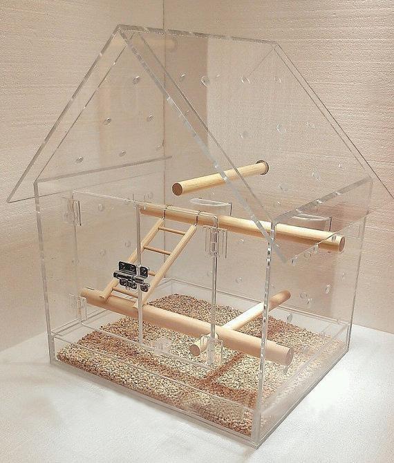How to build an Acrylic bird cage