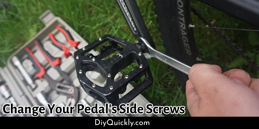 Change Your Pedal's Side Screws