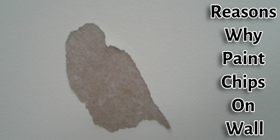 Reasons Why Paint Chips On Wall
