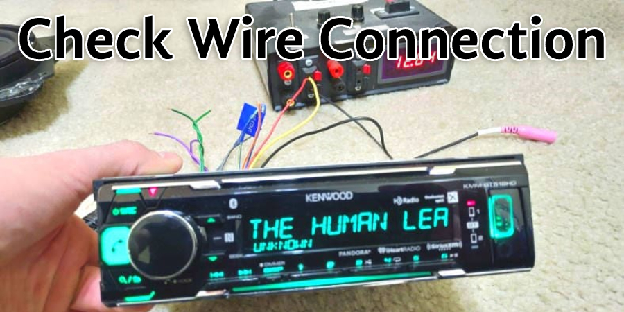 Check Wire Connection