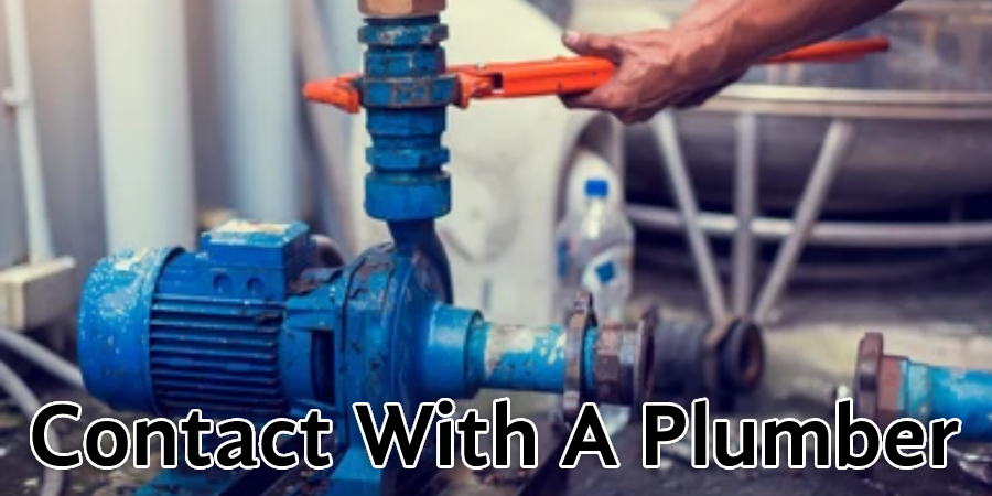 Contact With A Plumber