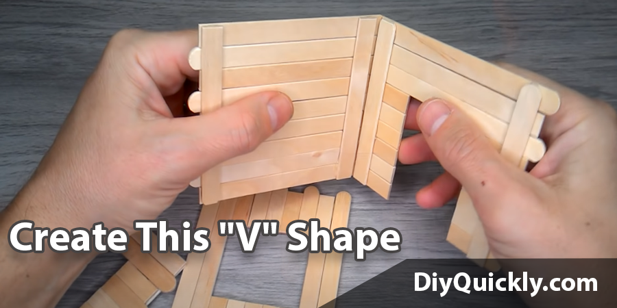 "Create This ""V"" Shape"