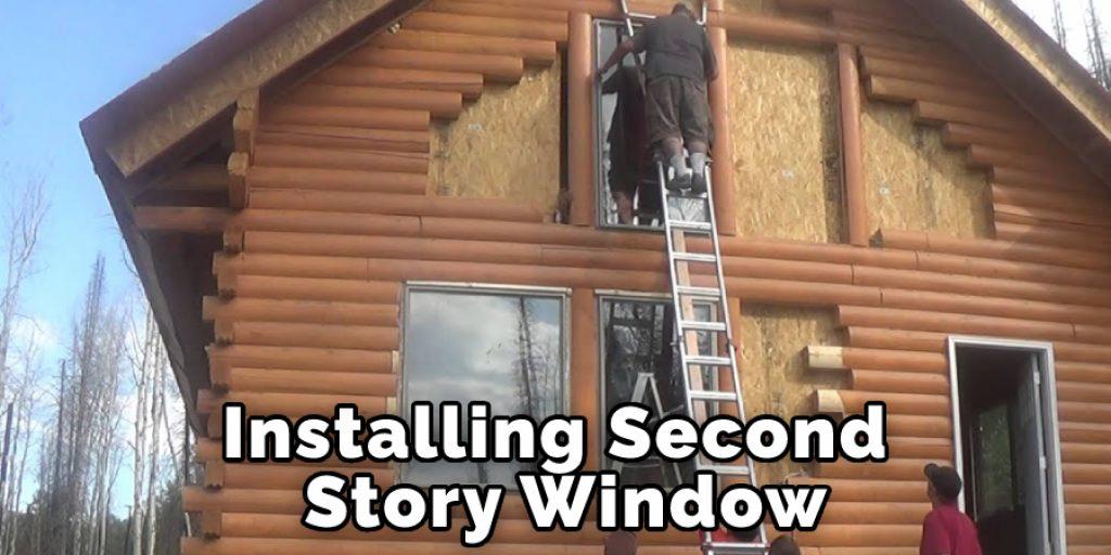 Installing Second Story Window