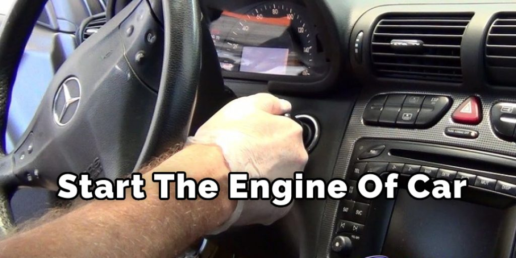 Start The Engine Of Car