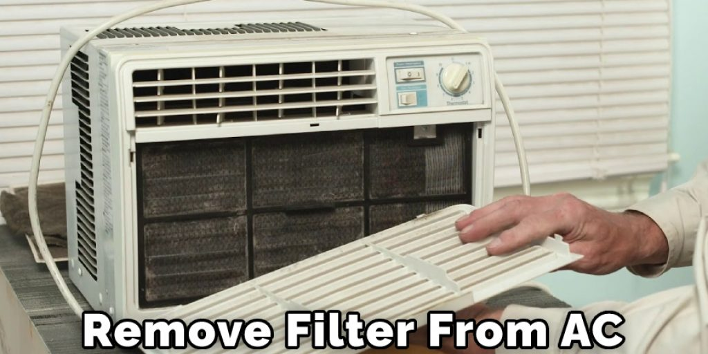 Remove Filters From AC