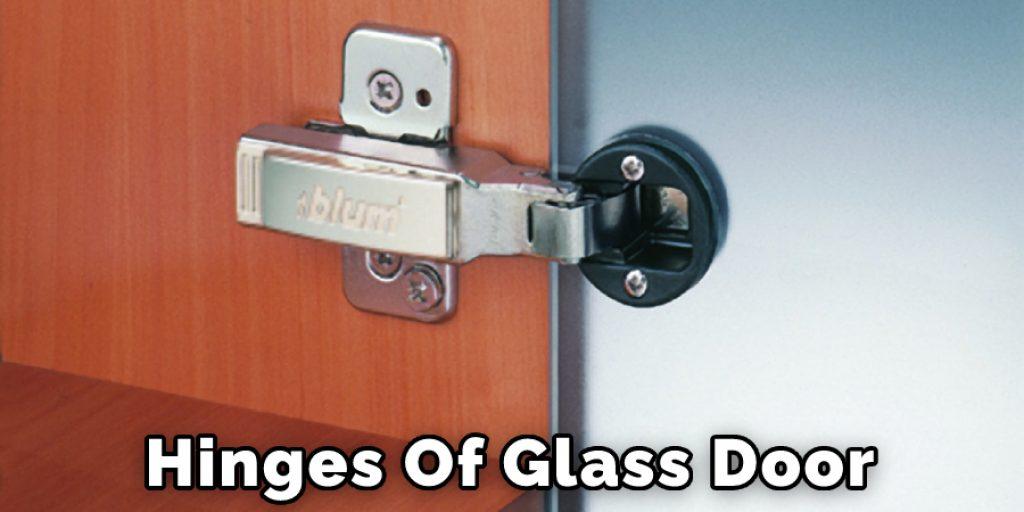 Hinges Of Glass Door