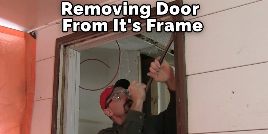 Removing Door From It's Frame